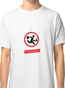 "Chuck TV show ""Pineapple!"" Classic T-Shirt"