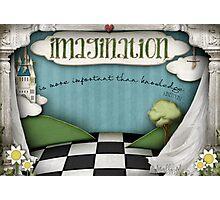 Imagination.. Photographic Print