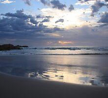 Blue Sunset by Eunice Atkins
