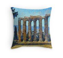 Temple Of Zeus Throw Pillow