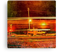 Electrical Emergency Canvas Print