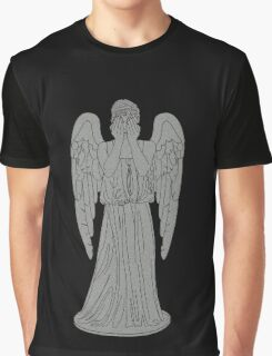 Single Weeping Angel Graphic T-Shirt