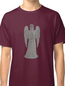 Single Weeping Angel Classic T-Shirt