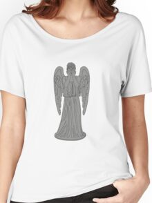 Single Weeping Angel Women's Relaxed Fit T-Shirt