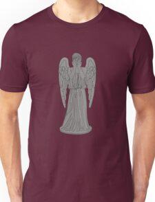 Single Weeping Angel Unisex T-Shirt
