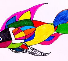 Geo fish by A5ash