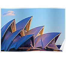Opera House Sunset Poster