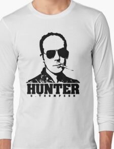 Mr Hunter S. Thompson Long Sleeve T-Shirt