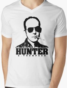 Mr Hunter S. Thompson Mens V-Neck T-Shirt