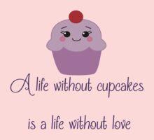 Cupcake Love Baby Tee