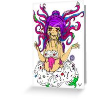 Monstar Gurrl  Greeting Card