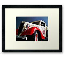 ©MS-HS Ford V8 1936 Framed Print