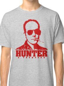 Mr Hunter S. Thompson (Red print) Classic T-Shirt