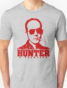 Mr Hunter S. Thompson (Red print) T-Shirt