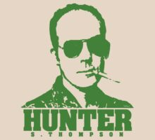 Mr Hunter S. Thompson (Green print) by Jarrod Knight