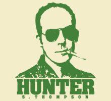 Mr Hunter S. Thompson (Green print) by Jarrod Knight