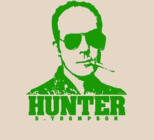 Mr Hunter S. Thompson (Green print) Unisex T-Shirt