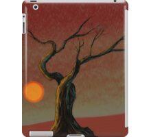 Red Sun iPad Case/Skin