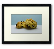 Rock Cakes Framed Print