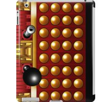 Red and Gold Supreme Dalek Mug iPad Case/Skin