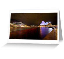 the sydney landmark Greeting Card