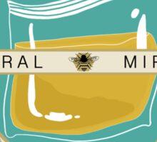 Castiel's Conflict-Free Honey Sticker