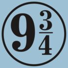 9 And Three Quarters (In Black) by destinysagent