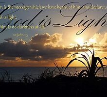 God is Light - 1 John 1:5 by JLOPhotography