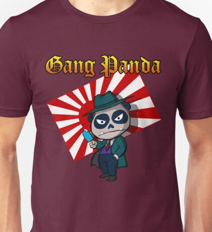 Gang Panda Unisex T-Shirt