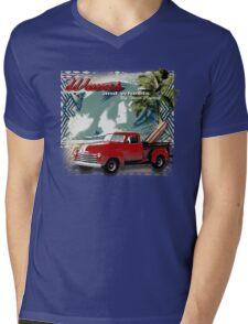classic surf Mens V-Neck T-Shirt