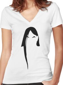 Nathan Explosion Women's Fitted V-Neck T-Shirt
