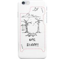 OMG Bunny! iPhone Case/Skin