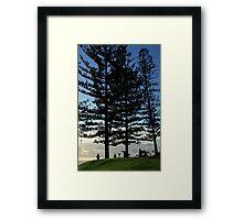 First Light - Burleigh Headland Framed Print