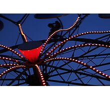 Carnival Ride Abstract Photographic Print