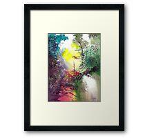 Back to Jungle Framed Print