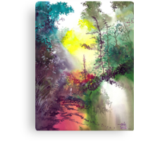 Back to Jungle Canvas Print
