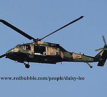 Black Hawk Helicopter -  Australian Army by daisy-lee