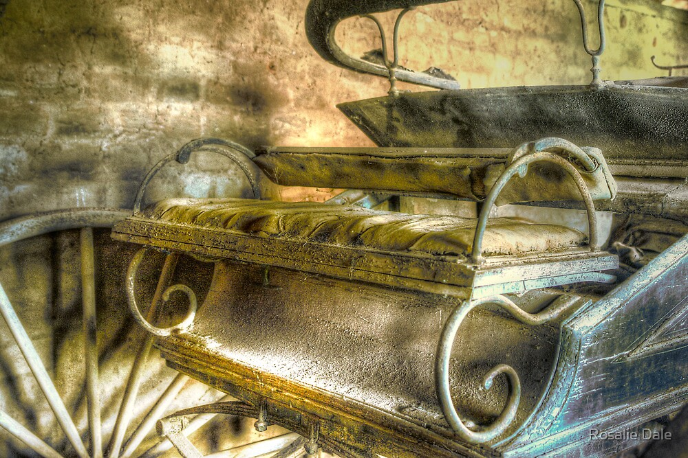 When the limo breaks down ... Monte Cristo ~ Junee NSW by Rosalie Dale