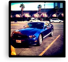 Mustang in Vegas Canvas Print
