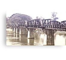 Bridge on the River Kwai Canvas Print