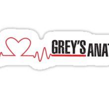 Grey's Anatomy Heartbeat Sticker
