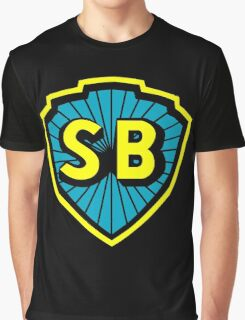 Shaw Brothers Logo Graphic T-Shirt