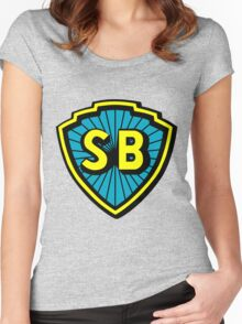 Shaw Brothers Logo Women's Fitted Scoop T-Shirt