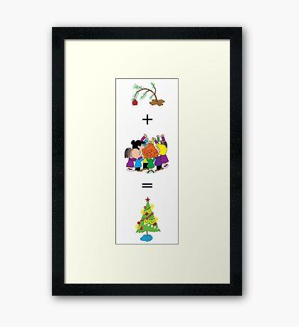 Merry Christmas Charlie Brown! Framed Print