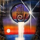 Universe Healing Hand by Sandy Williamson