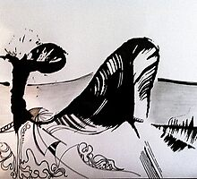 Ink Whale by A5ash