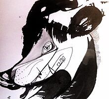 Ink Wolf by A5ash