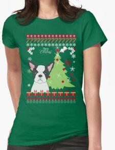 French Bulldog Ugly Christmas Sweater T-Shirt