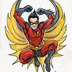Robin (Tim Drake) by JohnnyGolden