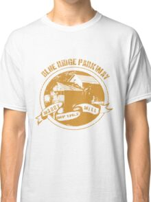 Blue Ridge Parkway in Gold Classic T-Shirt